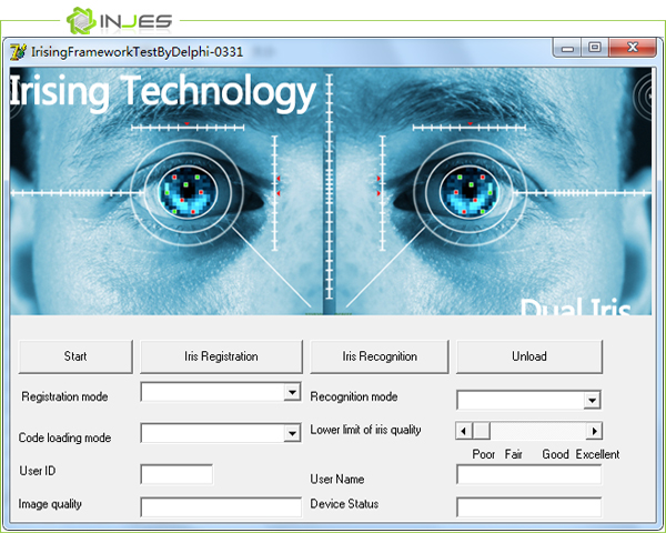 Biometric Eye Scanner