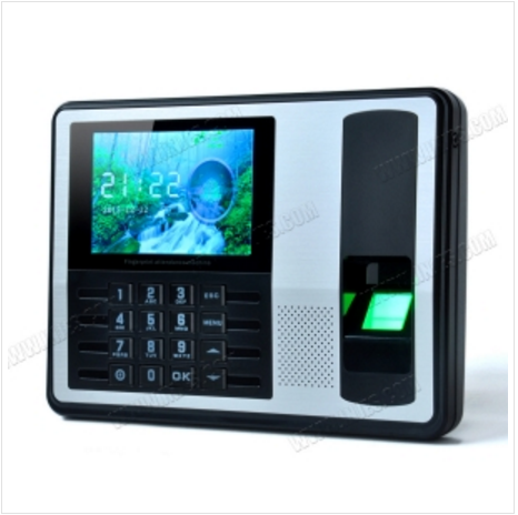 Biometric Attendance System with RJ45 Network Large Color LCD Screen